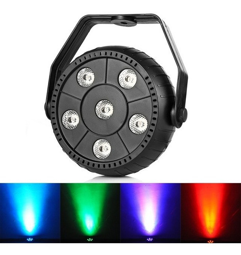 tacho de luces led audioritmico rgb dj eventos bar disco