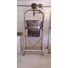 Tacho Inox 150 Lts Basculante A Gas