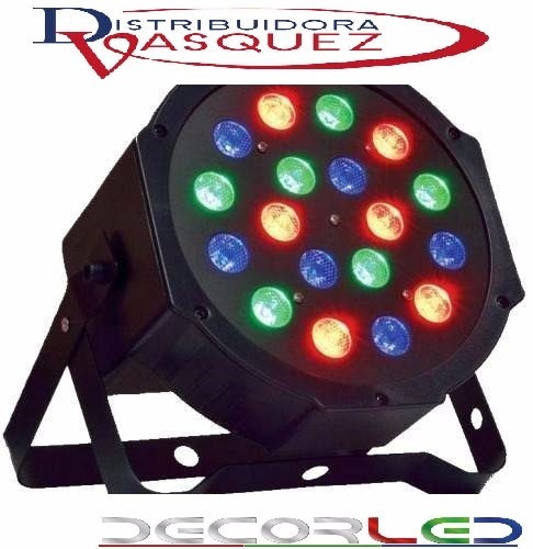 tacho led discoteca multicolor audioritmico dmx automatico