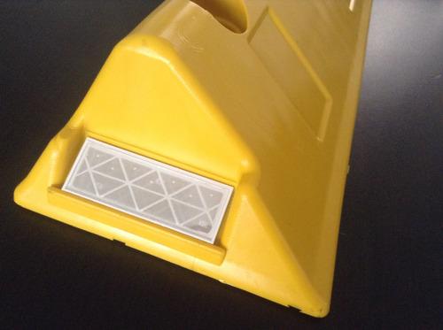 tachon vial tachon plastico de 40x15x8 cms segregador vial