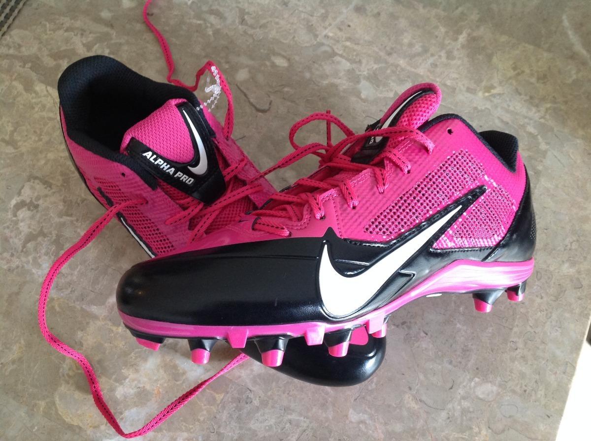 7910a836c Tachones De Americano Nike Alpha Pro