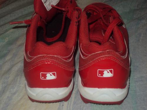 tachones de beisbol unter originales tala 20.5 rojos