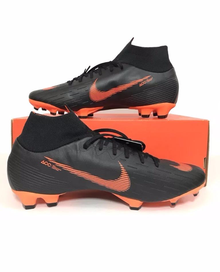 6943dd1783641 Tachones Nike Magista Negro Naranja Pogba Neymar Bota -   850.00 en ...