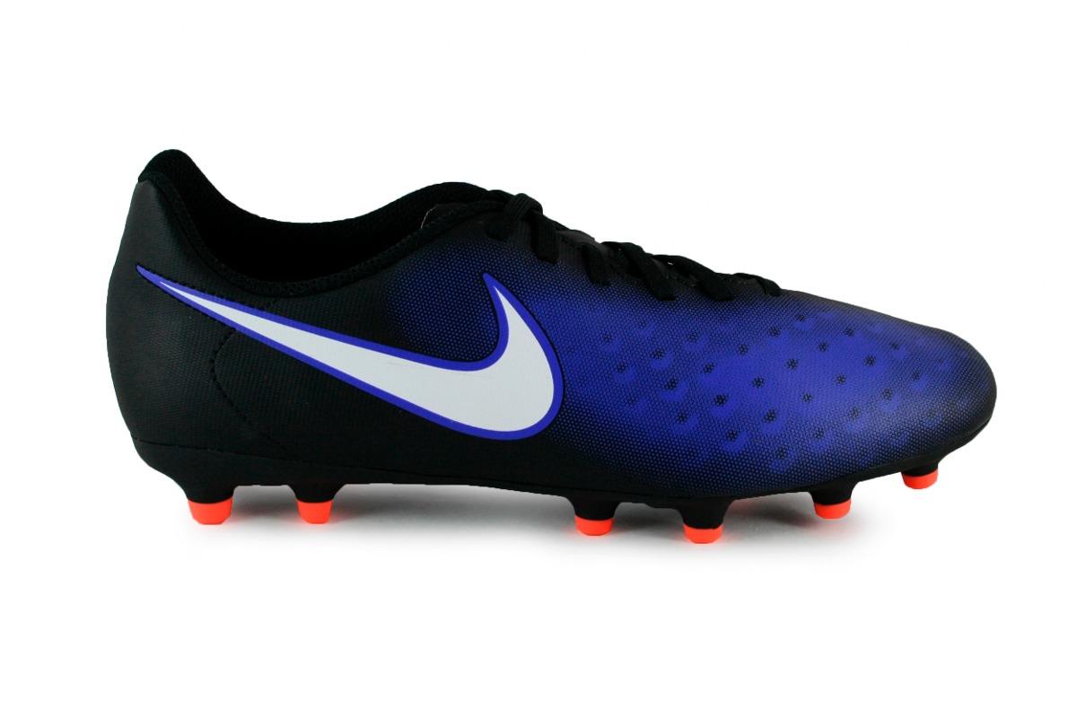 Tachones Nike Magista Ola - Negro Con Azul 844420-016 -   1 fdecec423ae80