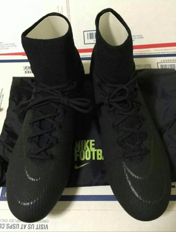 03c8cfb980ec6 Tachones Nike Mercurial Negro Cr7 Bota -   950.00 en Mercado Libre