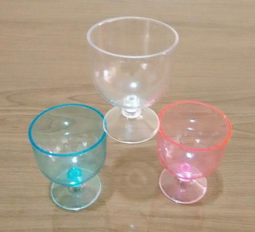 tacinha de acrílico p/ lembrancinhas ou doces cores c/100 un