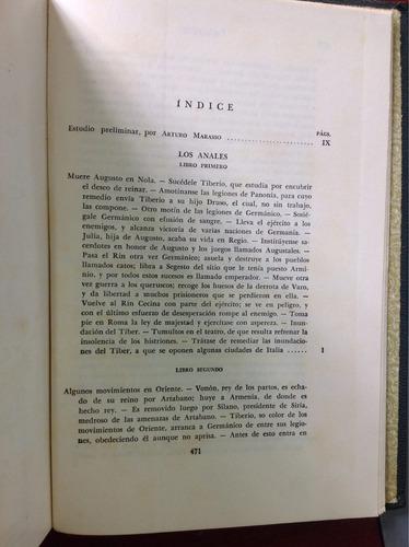 tácito los anales/ colección clásicos jackson