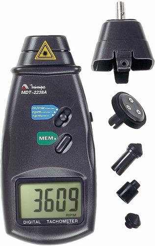 tacômetro digital foto/contato mdt-2238b minipa