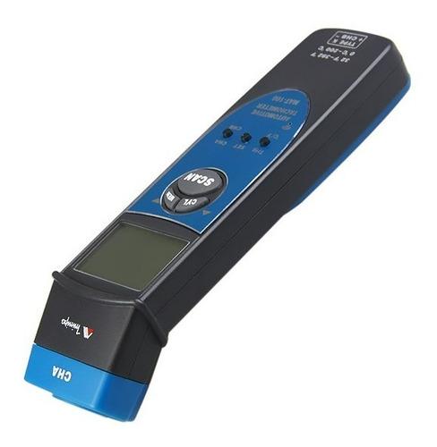 tacômetro digital rpm e temperatura 0°c~200°c minipa mat-100