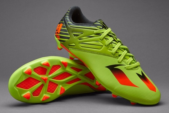 d6ac1c9143a60 Taco adidas Messi 15.3 Fg Verde Solar Slime Caballero -   1