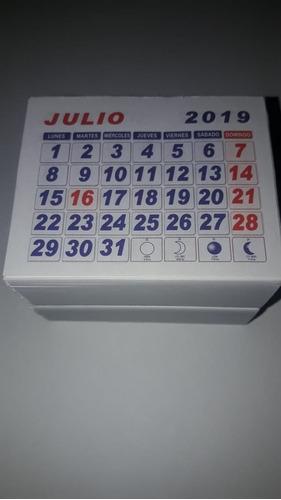 taco calendario mini 2019 -2020  100 unidades