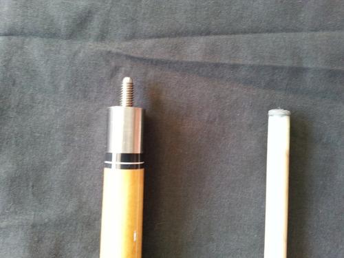 taco de billar / pool desarmable 595 gr 21 onzas nuevo