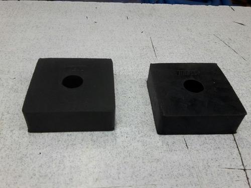 taco de goma para caja de carga pickup dodge 100 - 200