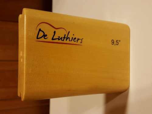 taco de madera para rectificar trastes 9.5  10cm de luthiers