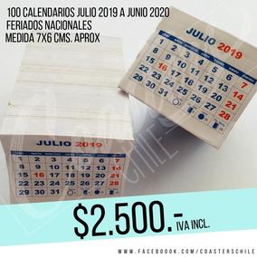 Mini Calendario 2020 Para Imprimir Chile.Taco Mini Calendarios 2019 2020 Para Imanes Publicitarios