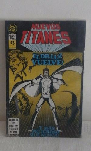 taco nuevos titanes nros 36-41 ediciones zinco