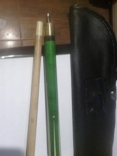 taco para jugar pool color verde