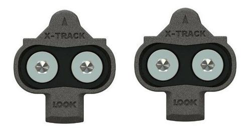 taco pedal mtb look x-track  ( compatível c/ shimano spd )