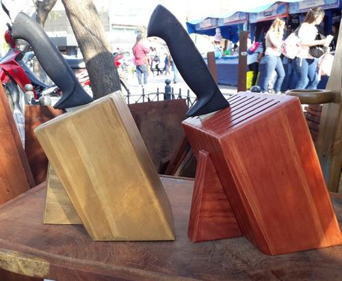 taco porta cuchillas grandes