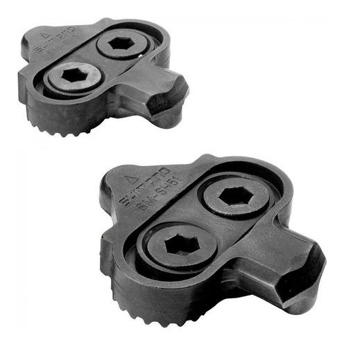 taco taquinhos shimano pedal clip mtb spd sm-sh51 original