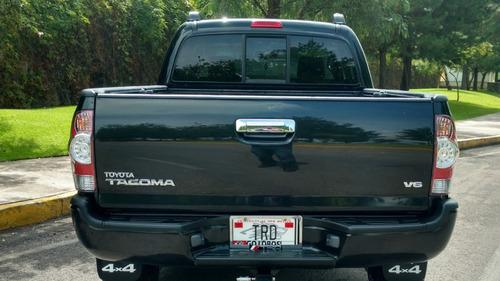 tacoma 2006 standar 4x4 recien legalizada 6cil impecable