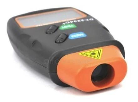 tacómetro digital rpm tester medidor sin contacto