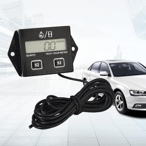 tacometro medidor rpm horometro digital para motores carro