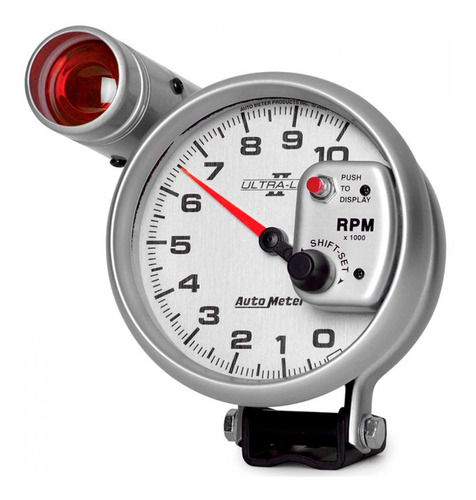 tacómetro ultra lite 2 4999 5´ 10000 rpm autometer