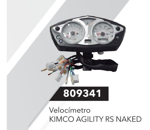 tacometro velocimetro agility naked (pgte disponibilidad)