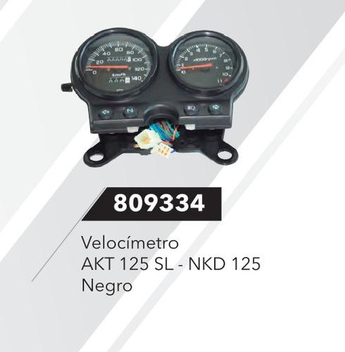 tacometro velocimetro akt 125 sl/nkd (pgunte disponibilidad)