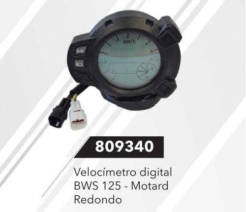 tacometro velocimetro bws 125 motard (pgte disponibilidad)