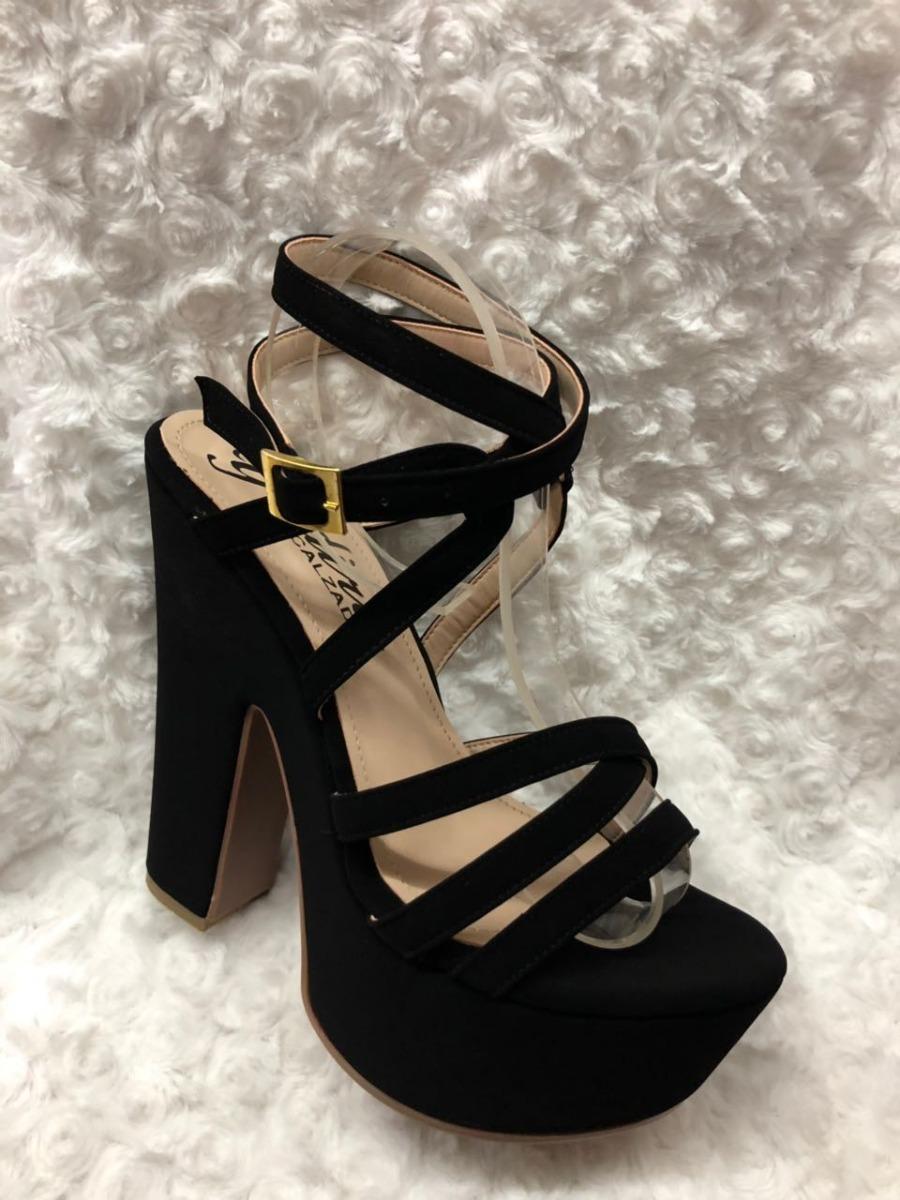 Mujer De Dama Calzados Color Y Zapatos Moda Para Tacón Negro wvm8Nn0