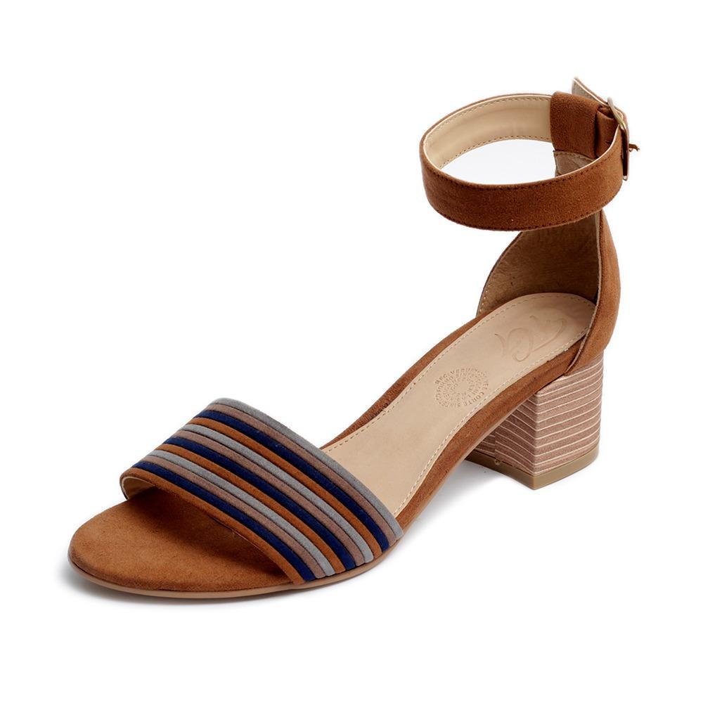 Sandalias Mujer Tacón Plataforma Moda Zapatillas Azul 3500 eodxQrCBWE