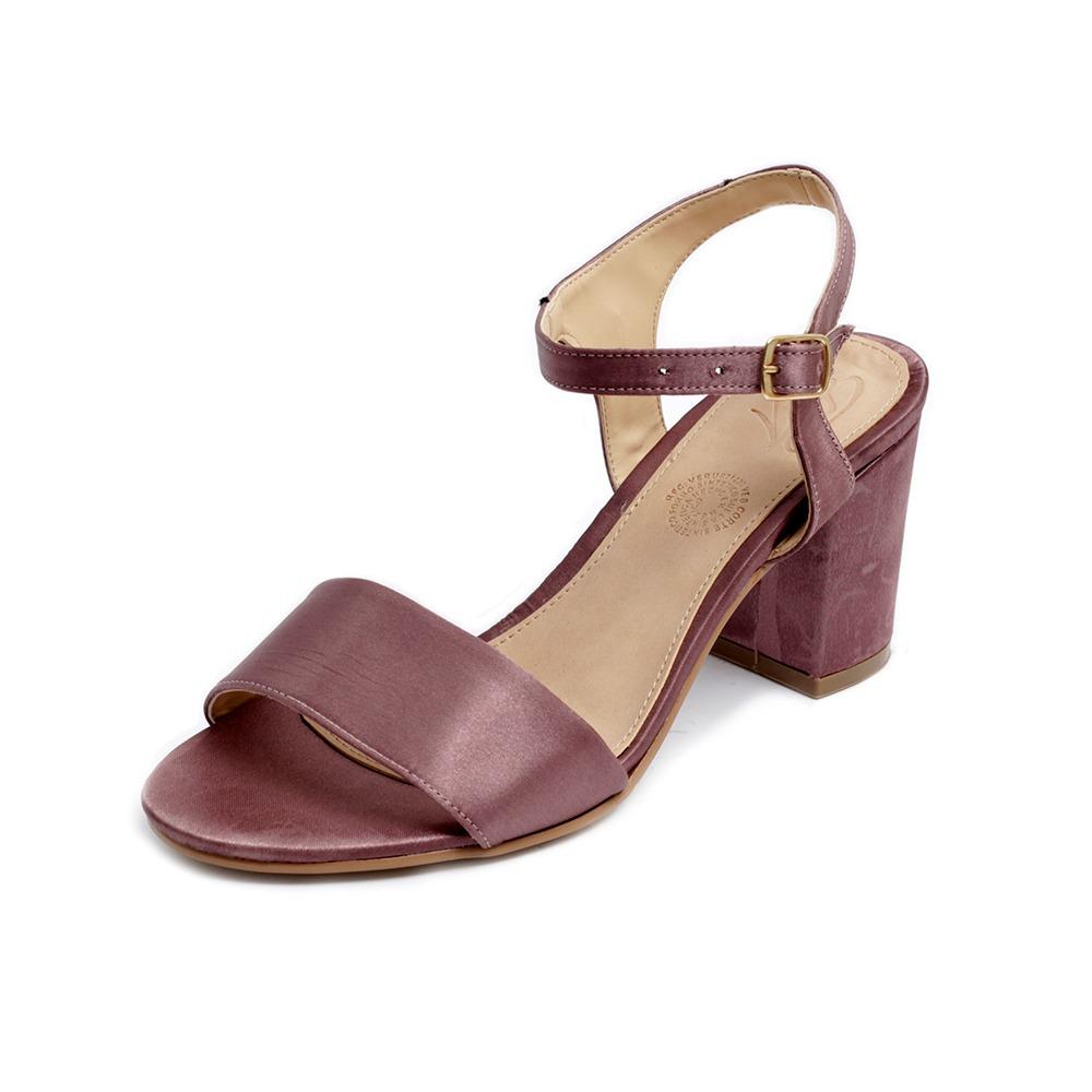 Mujer Tacón Plataforma Sandalias Zapatillas 3002 Moda Malva xCeBod