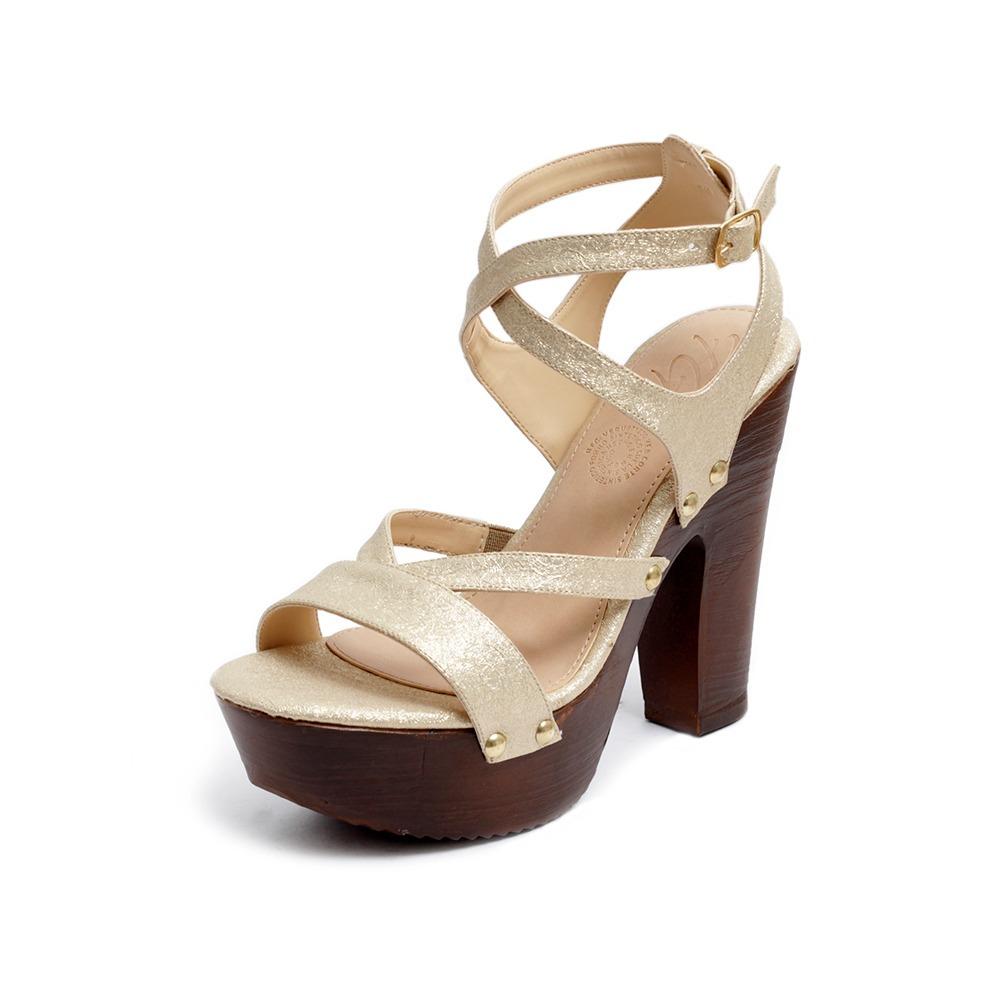 3000269 Moda Mujer Plataforma Tacón Sandalias 00 Zapatillas Oro 8o0wknp 7ybYg6fv