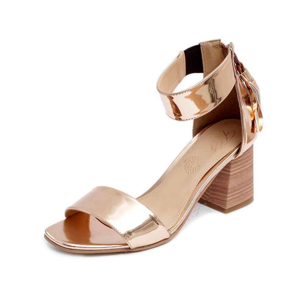 Plataforma Mujer Pkzwoutxi Zapatillas Tacón R 3801 Sandalias Oro Moda 7Yfbg6y