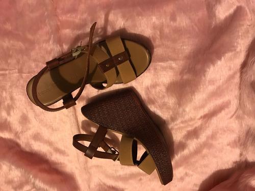 zapatos deportivos 23d5f 73254 Tacones Color Cafe
