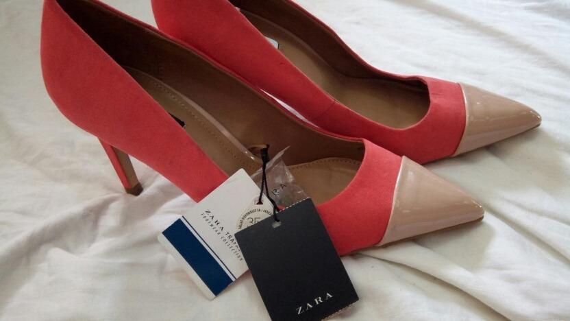 Original Bs Coral Zapatos Dama 38 Tacones Zara De Talla Dpt0zpq qFZSq8 01347251315