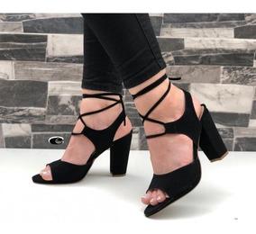 Grueso Altas Tacones sandalias Dama De Para Romanas Dama 67ygvbYf