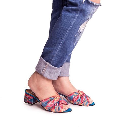 tacones mujer estampado , sandalias. envio gratis