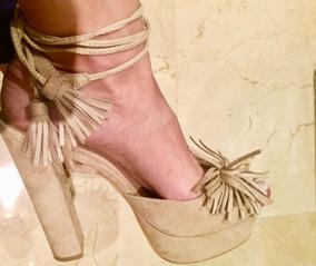 02904d98 Tacones Beige/nude - Zapatos Mujer en Mercado Libre Venezuela
