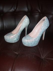 el más nuevo 17803 e63b4 Zapatos Plateados Altos Elegantes - Zapatos Mujer De Vestir ...