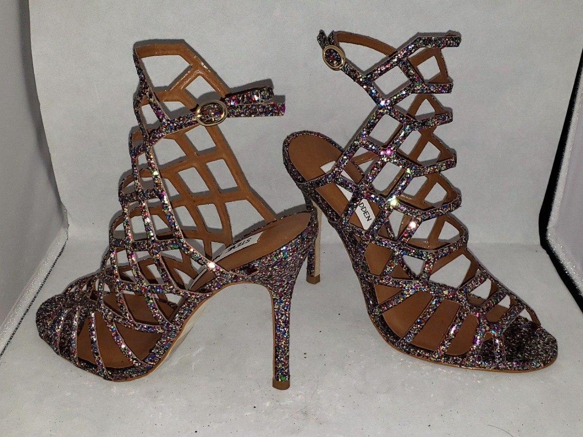 c3467405317 Zapatos Zapatillas Tacones Steve Madden Multiglitter -   900.00 en ...