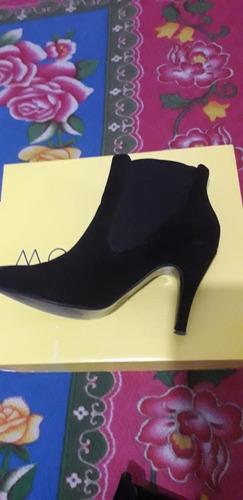 tacones tipo botas para dama