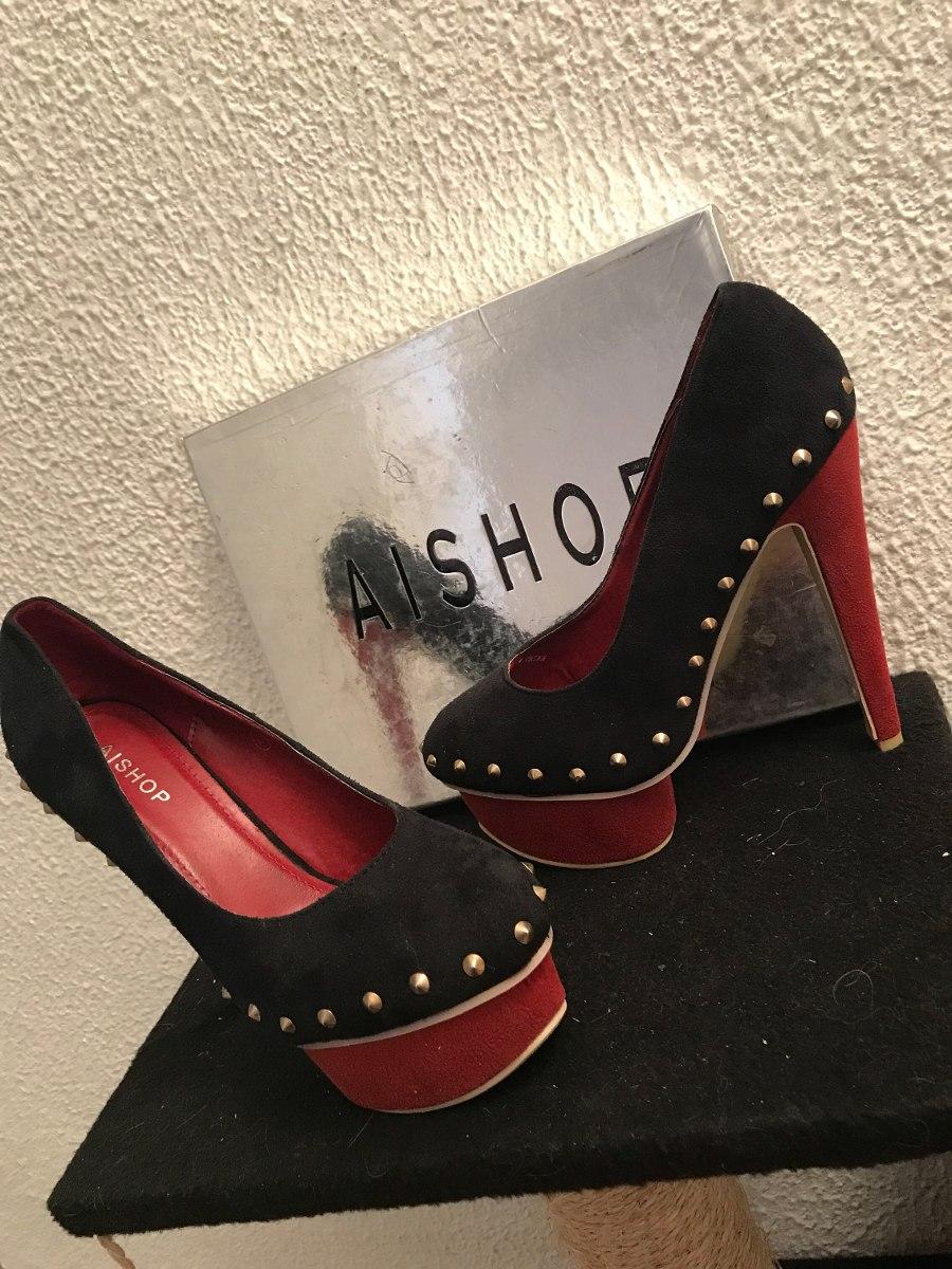 Tacones Zapatos Aishop Nuevos Talla 38 39 - Bs. 20.000 6cfaf6caa1c0