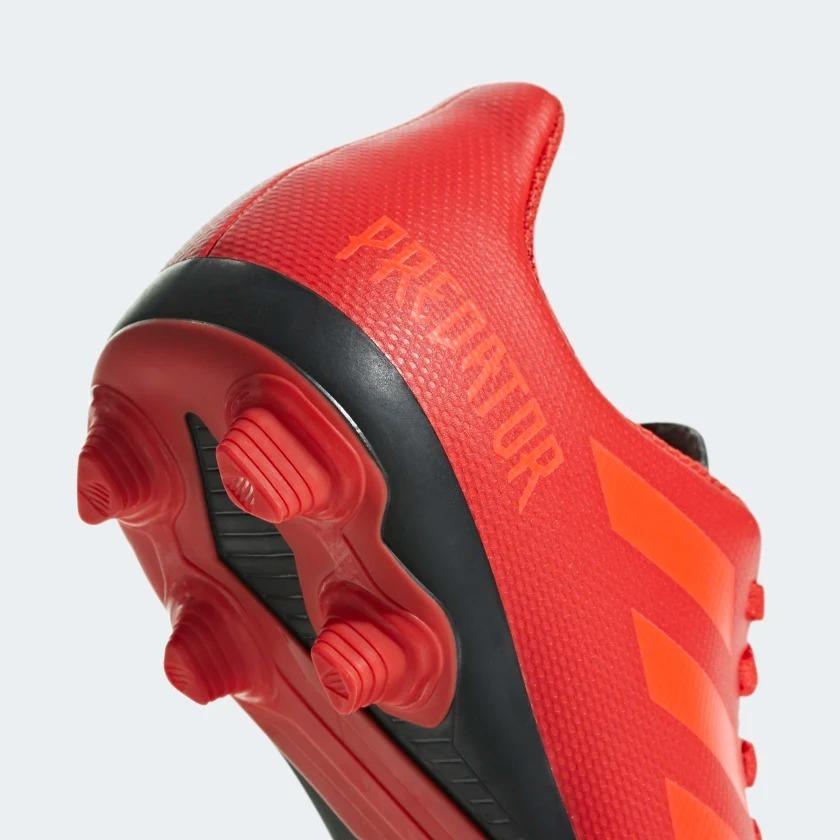 tacos adidas fútbol predator 19.4 fxg j color rojo 2651705. Cargando zoom. cad00fc137829