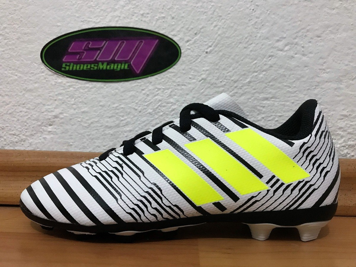 Tacos adidas Nemeziz 17.4 Para Niño Futbol Soccer -   499.00 en ... 18742b7c78bb4