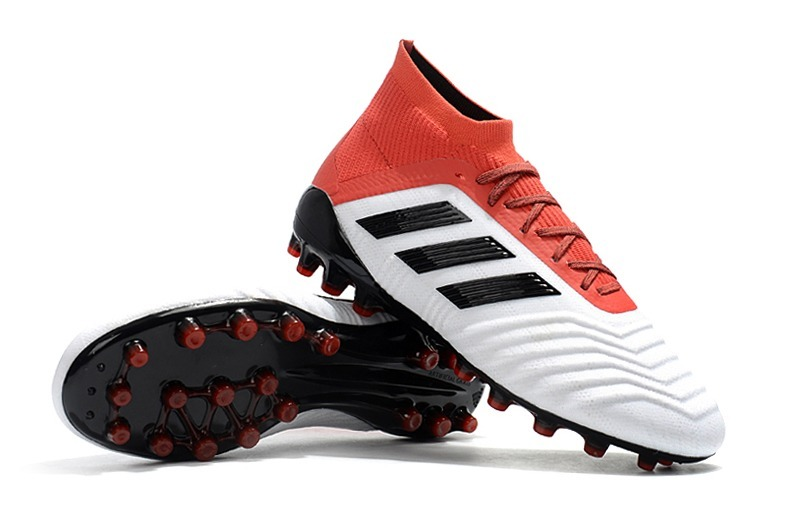 ... best price tacos adidas predator 18 ag white red. cargando zoom. 145a3  18156 a3a38ac3ad11d