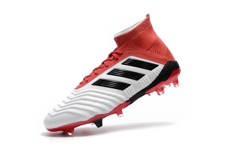 ... best price authentic tacos adidas predator 18 fg red white elite. cargando  zoom. 12954 dfb3184b50ef8