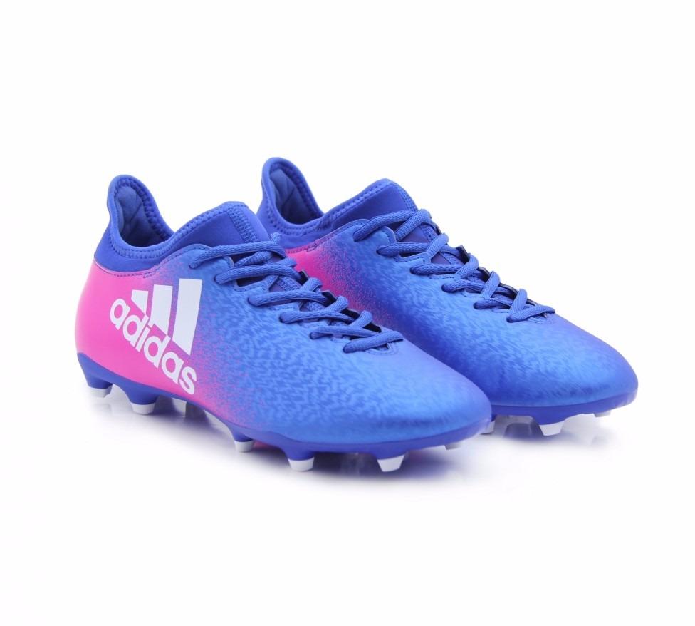 tacos adidas x 16.3 azul rosa bota gama alta modelo  bb5641. Cargando zoom. 0fc875eebdf05